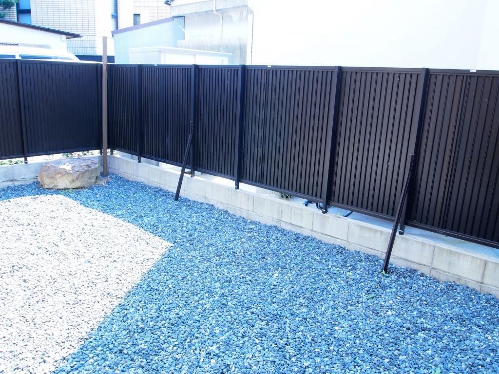 日本庭園の枯山水のようなお庭♪