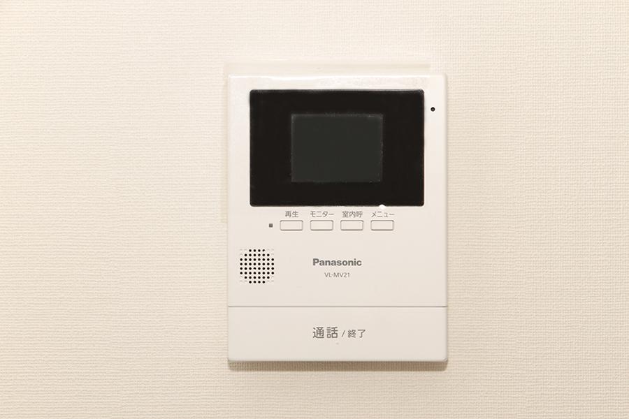モニタ付きのインターフォンでセキュリティ面も安心☆_MG_2065s