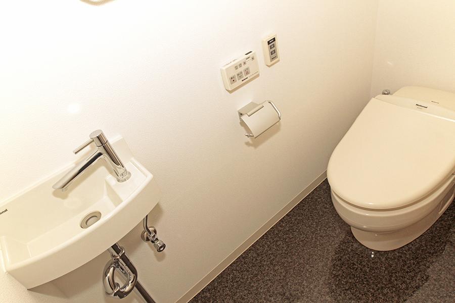 設備の整ったきれいなトイレです。