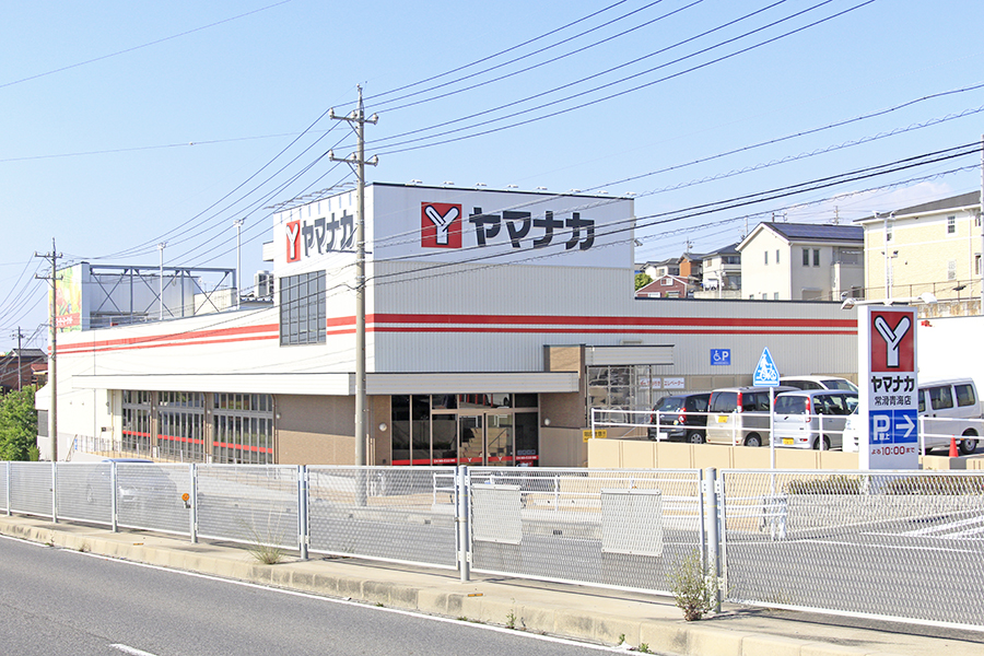 徒歩圏内にスーパーやコンビニ、100円ショップなどがあります_MG_6405s
