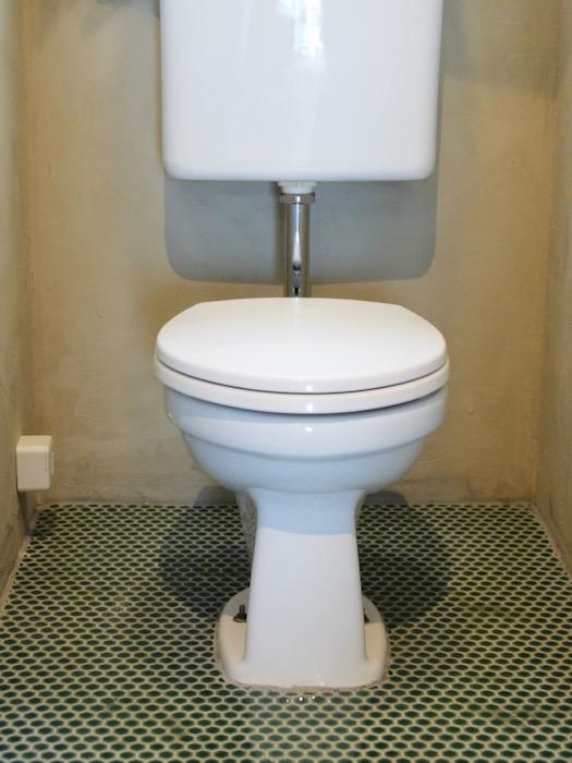 シンプルな便座なので、すっきりしたトイレに感じます。