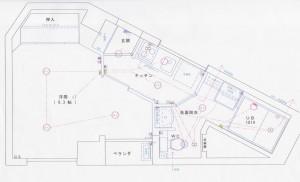 メゾン平安_間取図_503号室 (4)