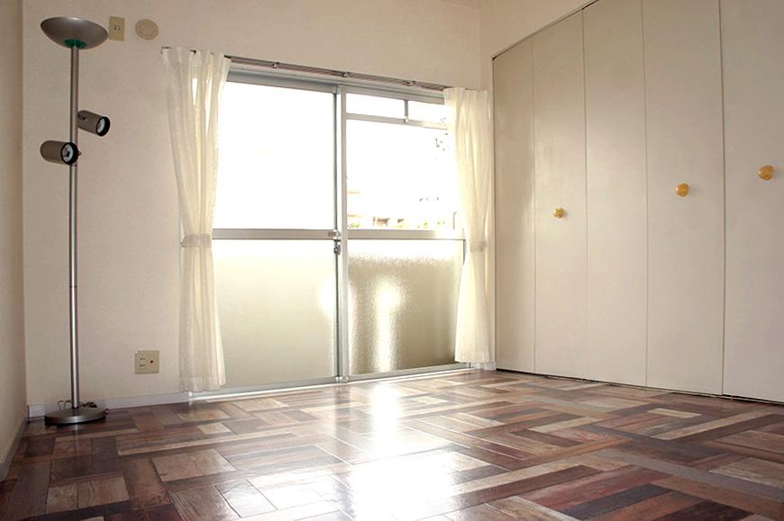 個性的な個室洋間