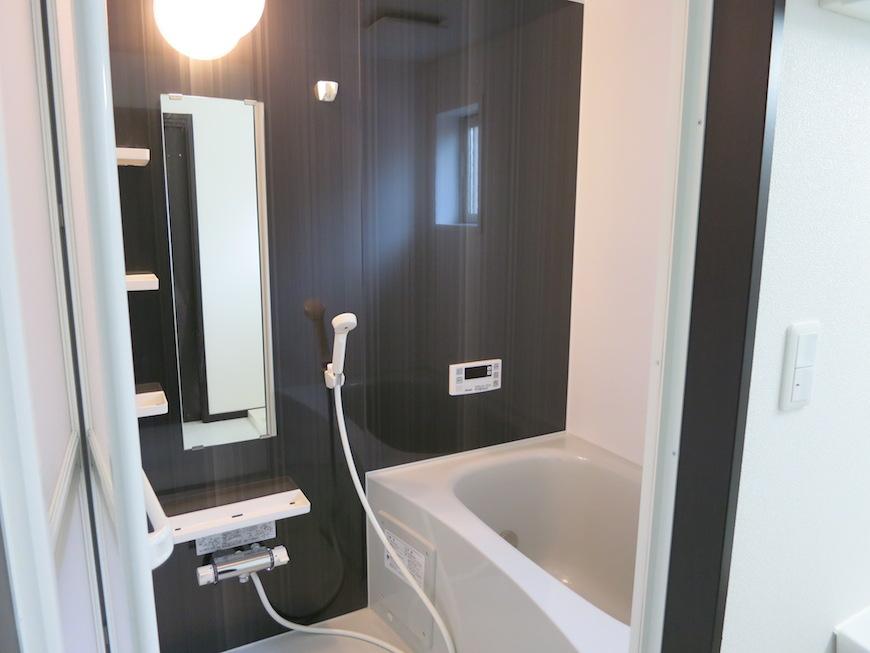 清潔感あるバスルーム。IMG_3199