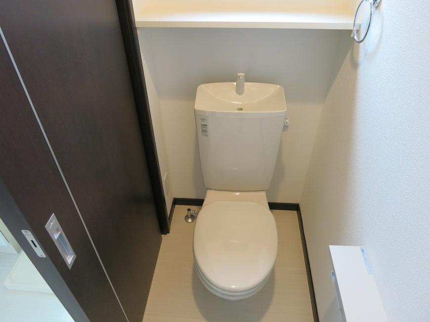 清潔感あるトイレ。IMG_3200
