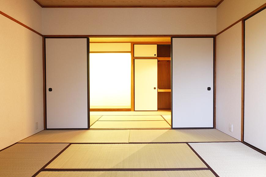 二間続きの和室が広々とした空間_MG_0097