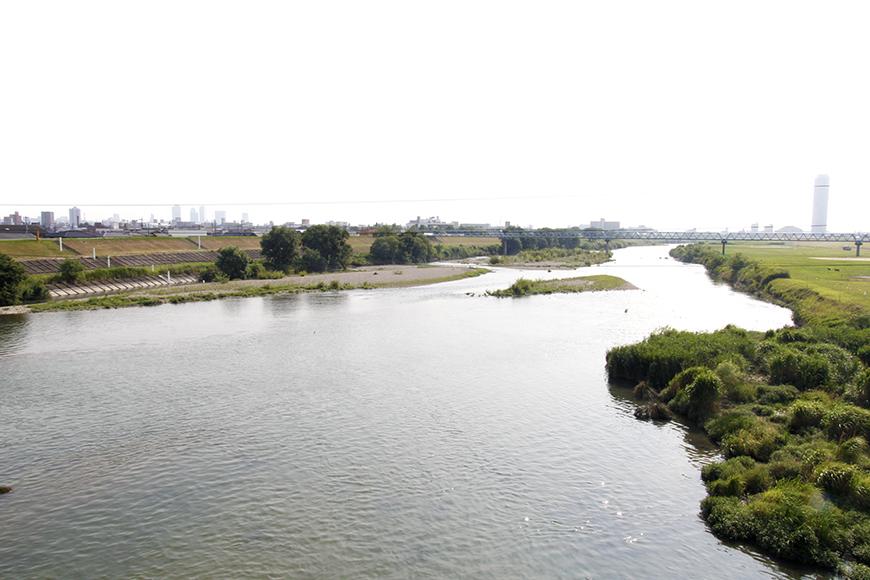 VERSTECKから徒歩数分で庄内川へ。お散歩コースにいかがでしょう?_MG_9273