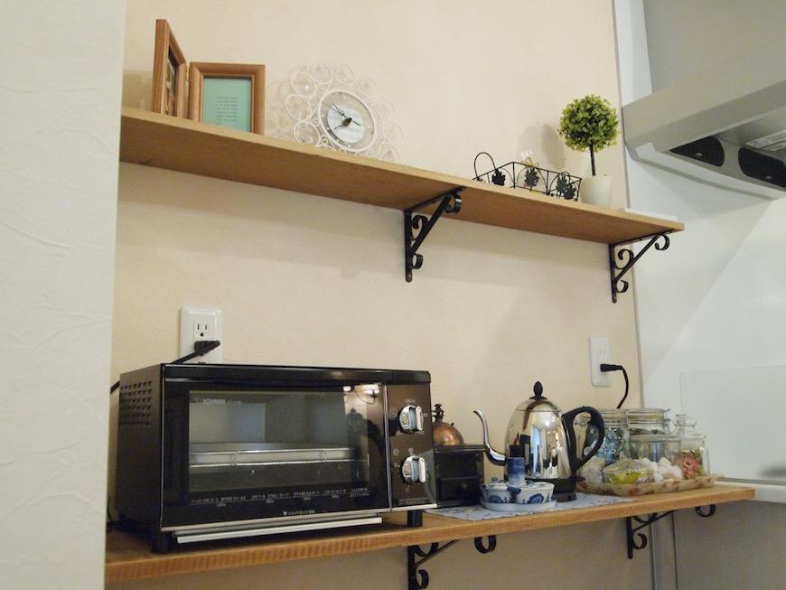 キッチン周りがお洒落に決まると毎日が楽しくなりそうです。