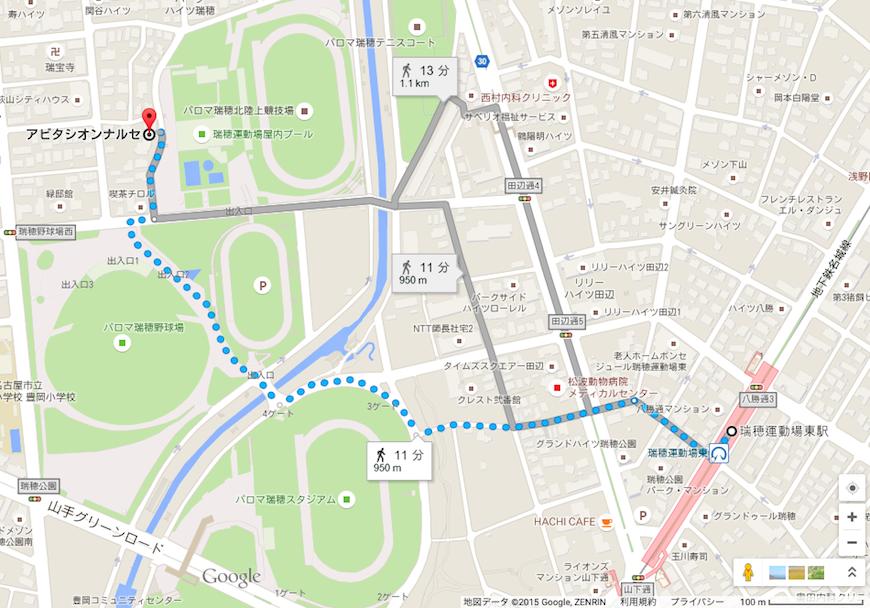瑞穂公園_マップ