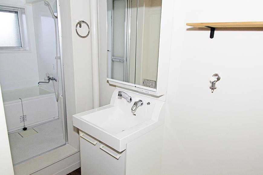 バスルーム、洗面、室内洗濯機置き場です_MG_1307_2