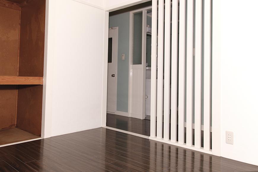 シンプルで素敵な洋室に、一般的な和室の押し入れがサラリと馴染んでます☆_MG_1609