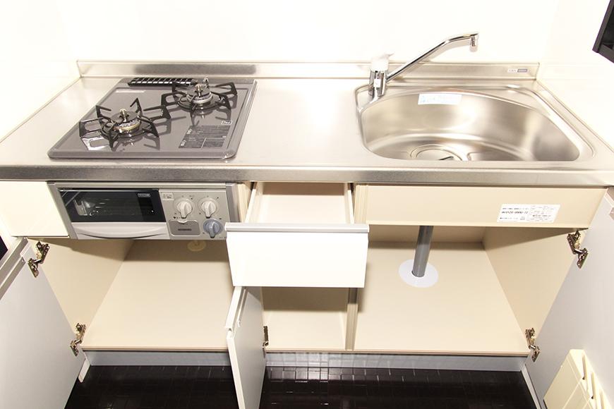 キッチン収納をオープン_MG_2530