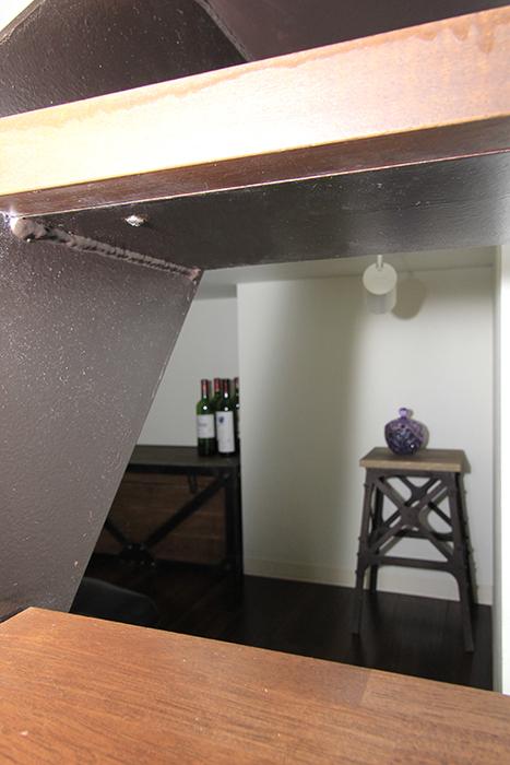 まるで秘密の小部屋のようなお部屋にワクワクします。