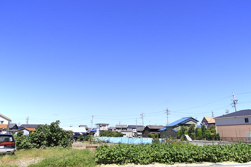 ジュネスコート周辺。本当に雲一つない快晴☆_MG_0220
