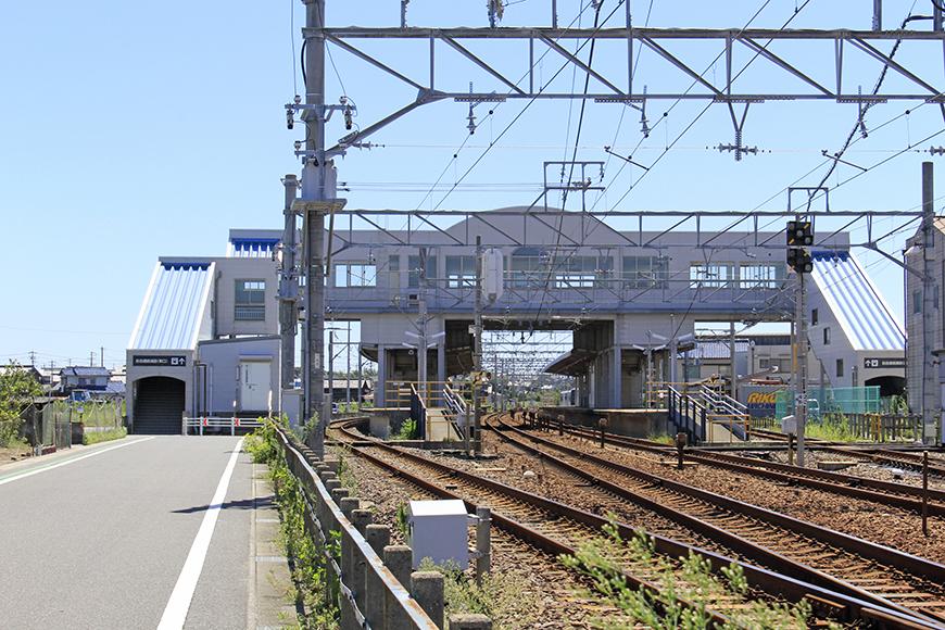 西ノ口駅周辺。取材当日は雲一つない晴天!_MG_0229