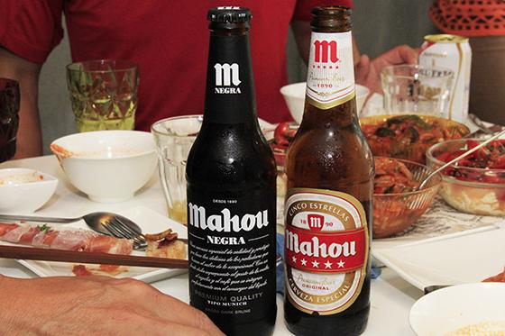 スペインビールの『Mahou』で乾杯、じゃなくてサルゥ_MG_6870