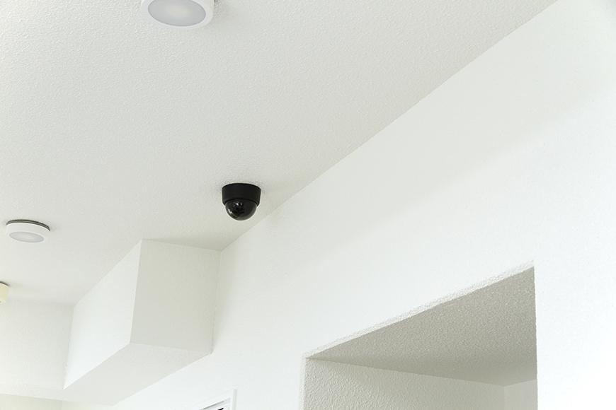 1階共用廊下のモニターカメラ_MG_8264