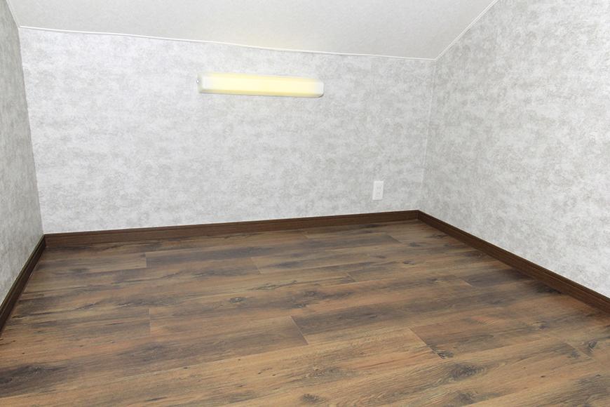 寝室にも使える広いロフトです。