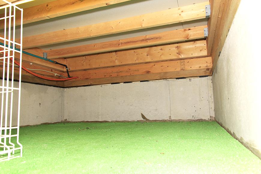 広々とした地下収納スペース!_MG_9934