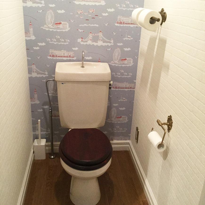 トイレはこの部屋だけのチョイス壁紙