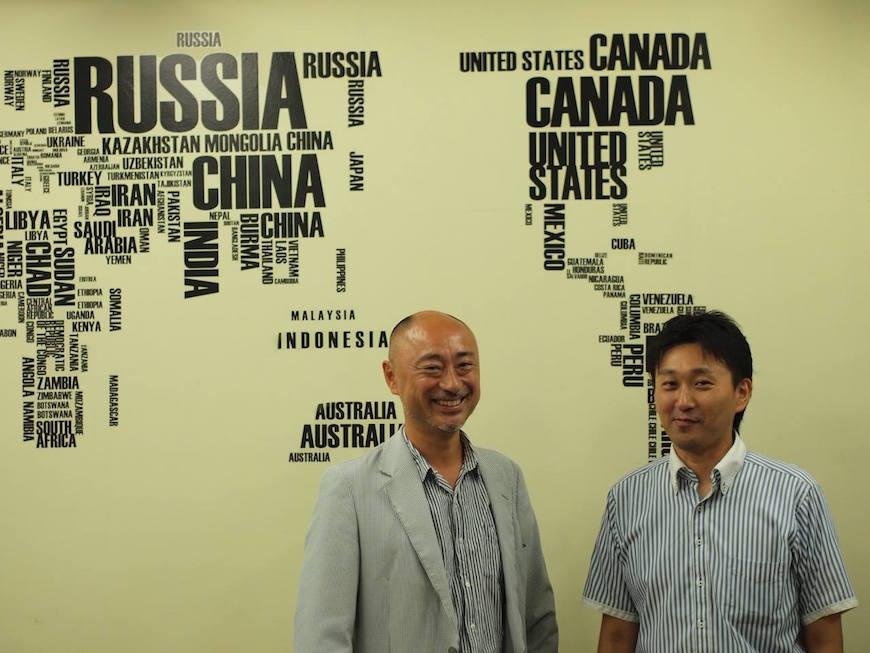 KOMATOWNオーナー仲尾さん(写真右)とブランチアベニューのオーナー武田さん(写真左)