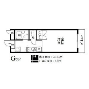 TOMOS岩塚(ヴァンベール名古屋)_216号室_間取図
