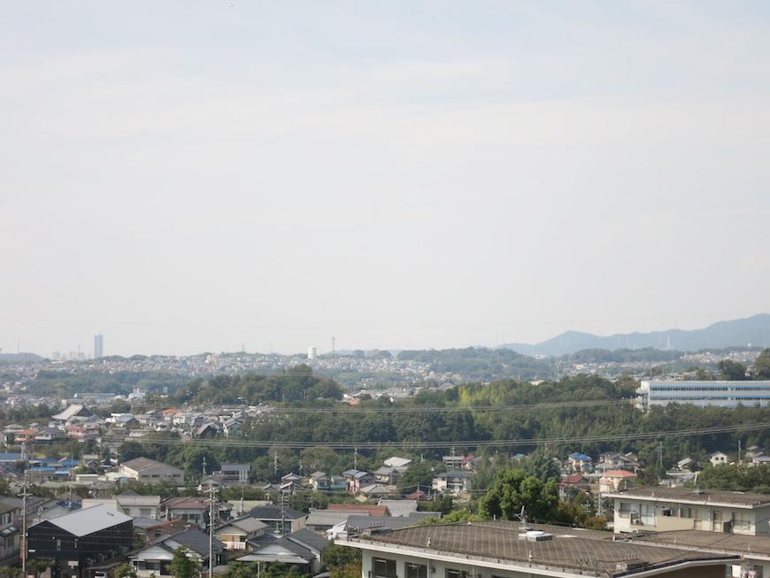 「Mistral」から少し上に上った高台からの景色です。