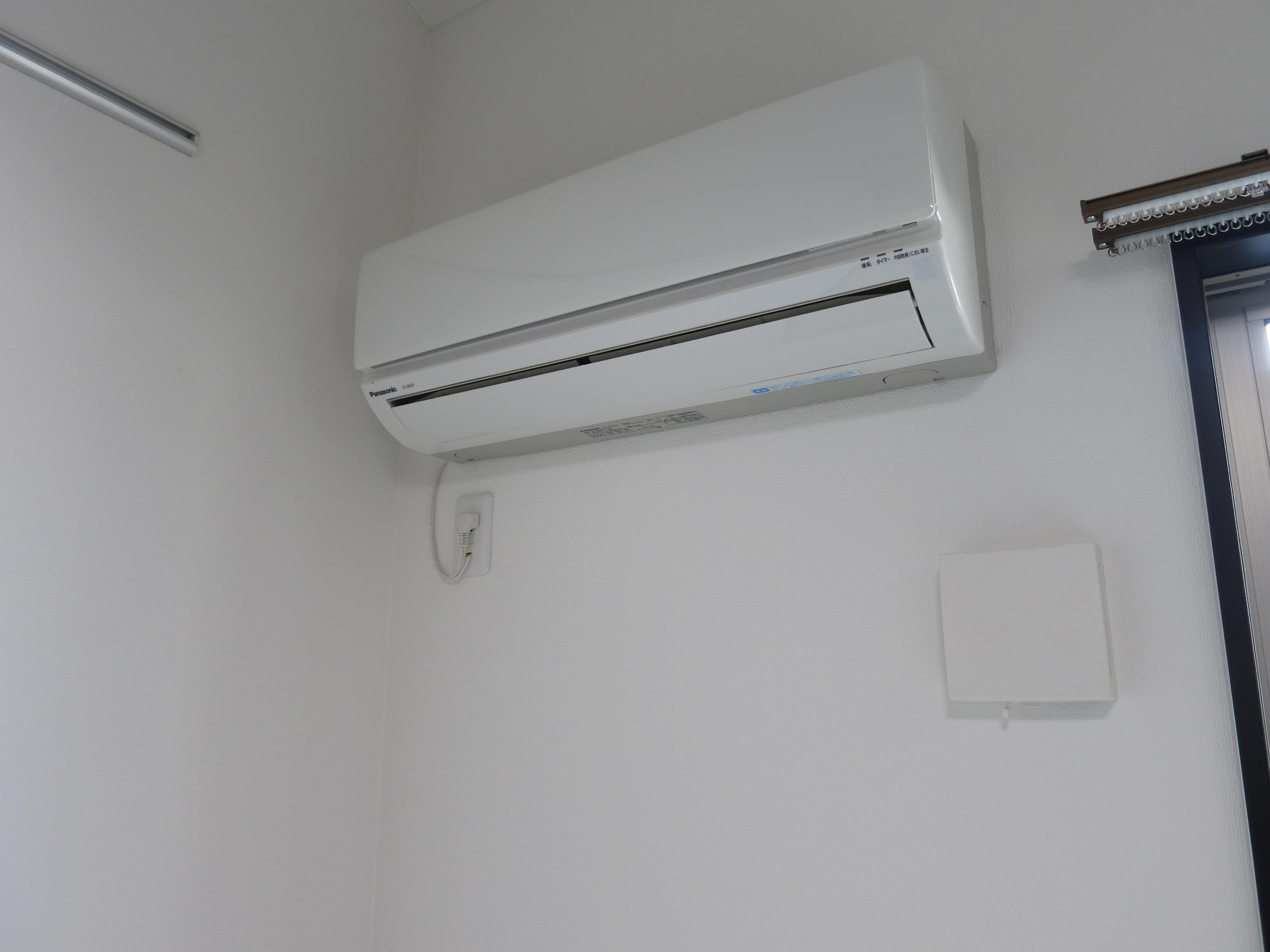 エアコンも付いています♪IMG_3556