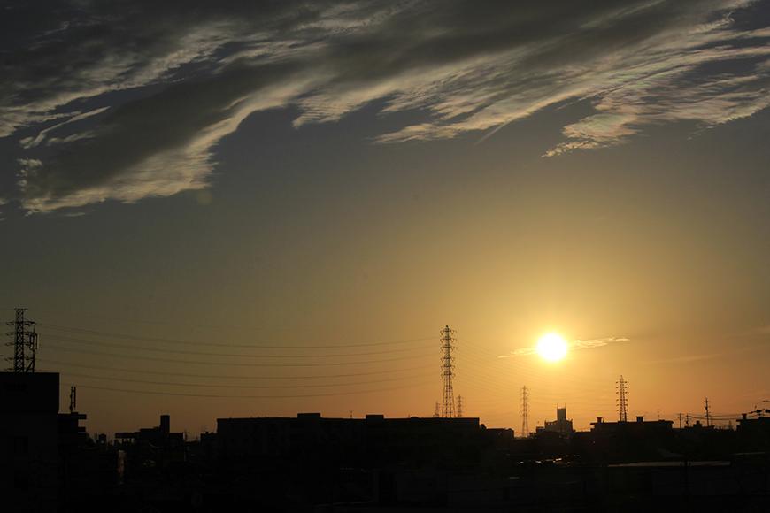 ユニーブル笠寺辺りは空が広く、色んな風景、色を楽しめます_MG_0046