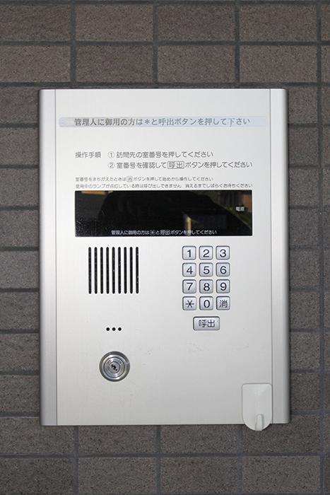 『TOMOS岩塚』の入り口はオートロックでセキュリティ面もバッチリ_MG_8647