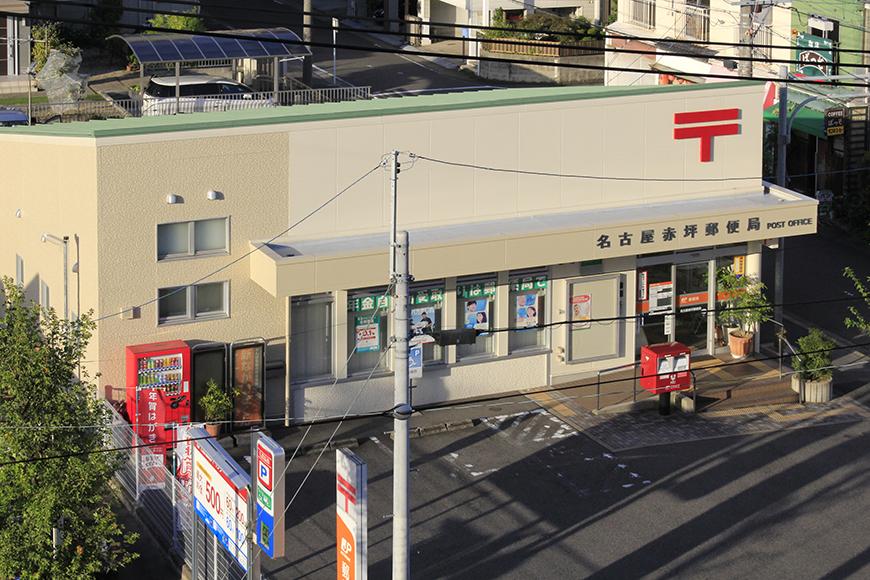 部屋から見える距離に名古屋赤坪郵便局_MG_9804