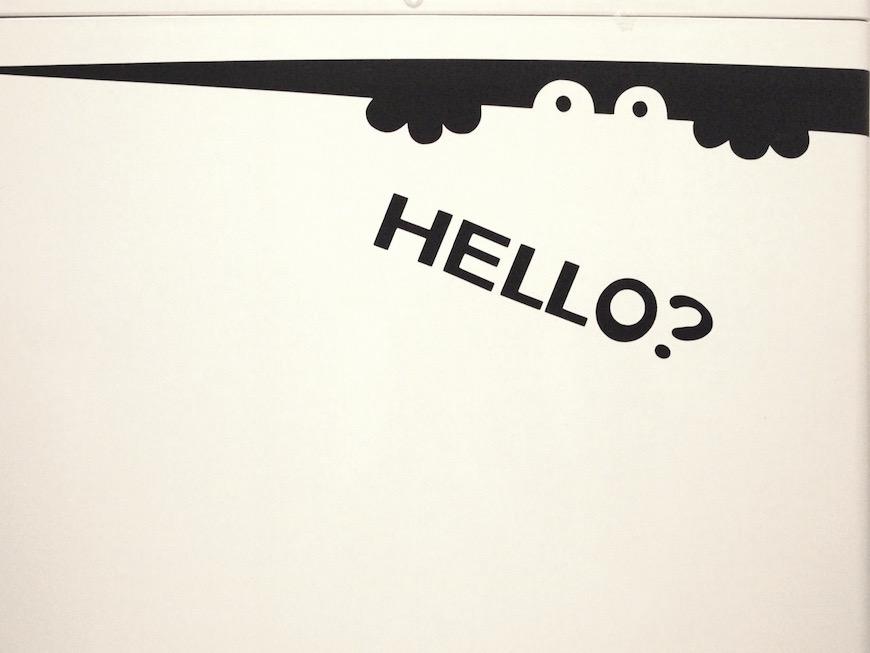 HELLO!可愛すぎる怪物くんの正体は記事末尾のお楽しみ^^