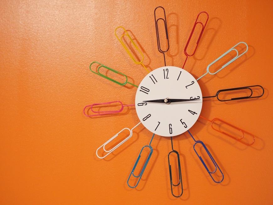 おしゃれなインテリア時計
