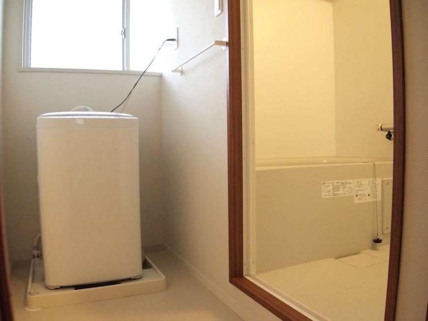 洗濯機とバスルーム