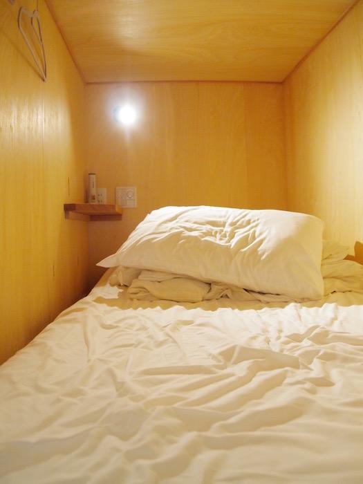 西アサヒ ゲストハウス ベッド