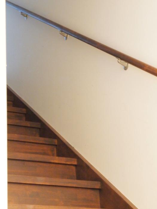 西アサヒ ゲストハウスへの階段