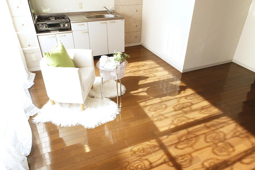 【102号室】L字型のキッチン・洋室です_MG_0150