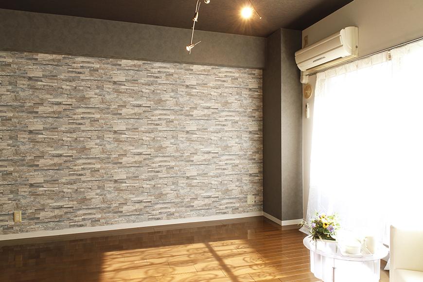 【102号室】素敵な照明がシックな部屋を彩ります_MG_0170