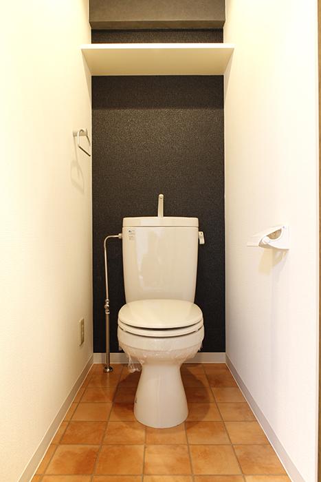 【102号室】シックで渋い印象の素敵なトイレです_MG_0216
