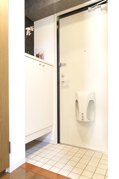 【102号室】102号室の玄関です_MG_0224