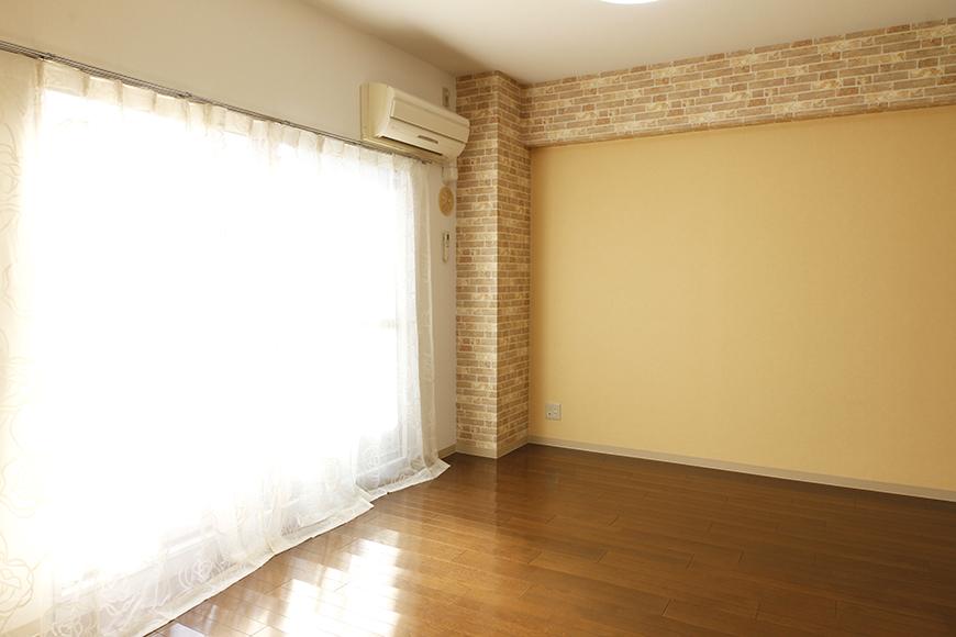 【203号室】黄色の壁は、温もりのある印象を_MG_0328
