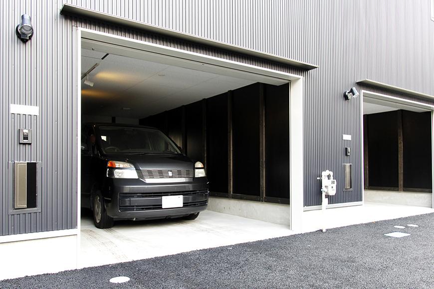 【A3号室】ガレージ使用例です!_MG_0348s