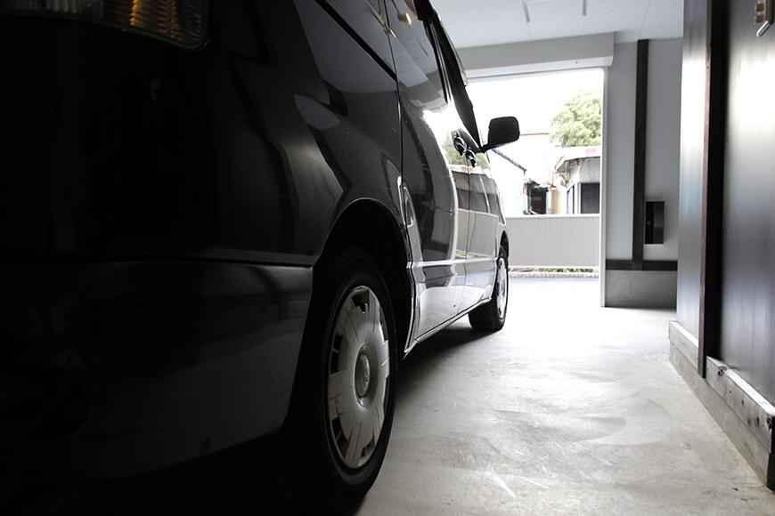 【Gハウス江南 A3号室】ガレージ使用例です!_MG_0357s