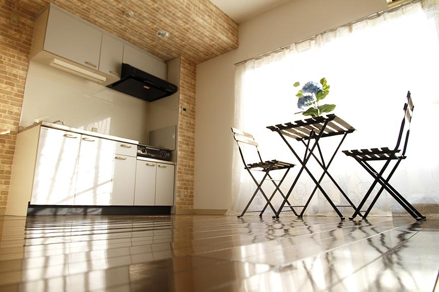 ネイルやアロマなどの自宅サロンとしての利用もOKのワンルームのお部屋です_MG_0424