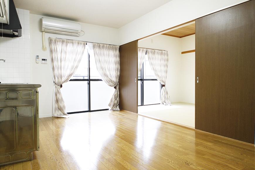 さささっと開くと、お隣の和室です! それでは隣の部屋に移ってみましょう!_MG_8875s2