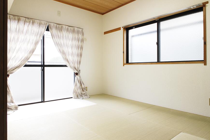 印象がシブーーくなりがちな和室ですが、角部屋☆二面採光の明るい和室はご覧の通り!_MG_8888s2