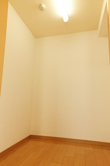 中は十分なスペースです(北側洋室のウォークインクローゼット)_MG_9048