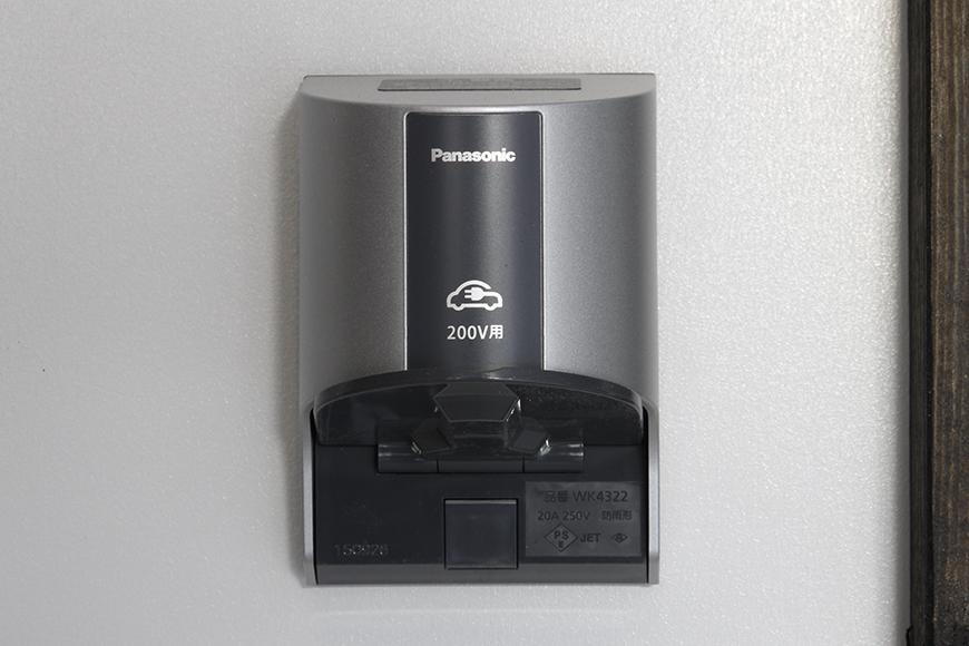 電気自動車充電用のEV・PHEV充電用屋外コンセント!_MG_9215s