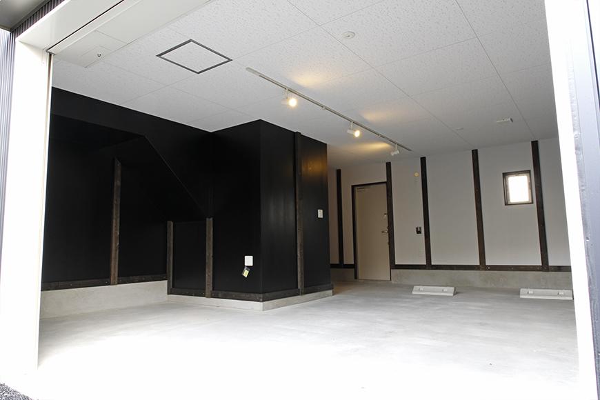 A3号室のガレージ内も広々快適スペース!_MG_9228s