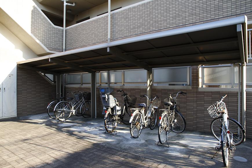 自転車置き場もひろびろです_MG_9254